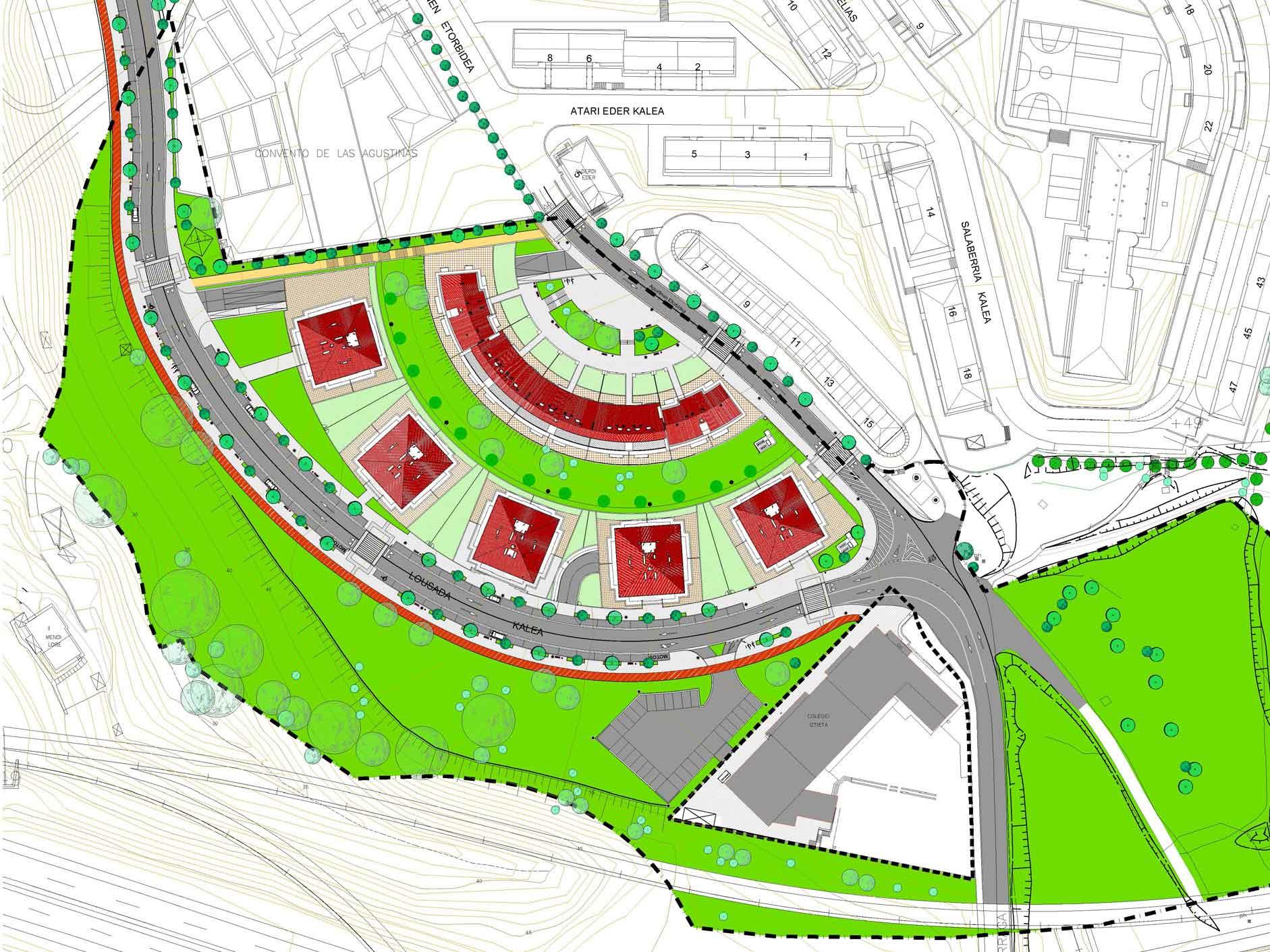 Agustinas urbanización portada proyecto