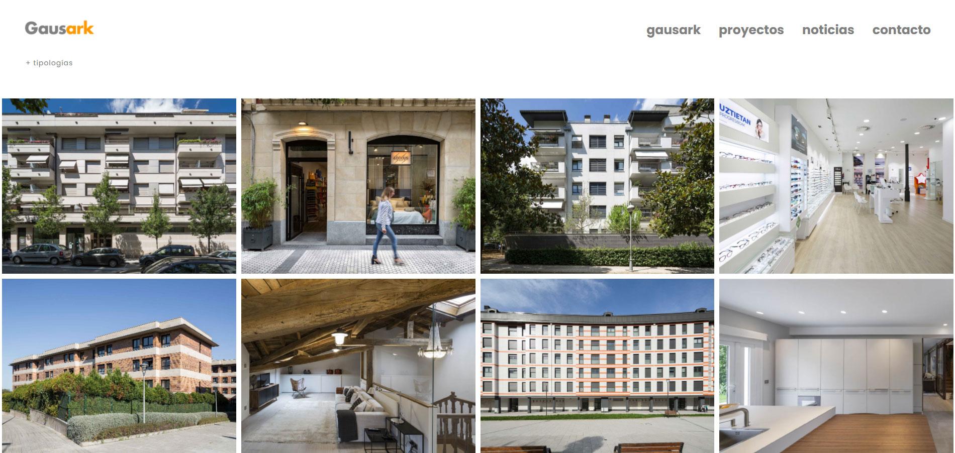 Proyectos web Gausark